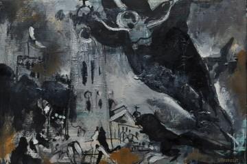 Angelas virš katedros
